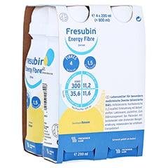 Fresubin Energy Fibre Drink Banane Trinkflaschen 4x200 Milliliter