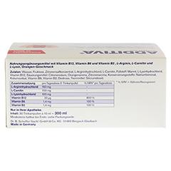 ADDITIVA Vitamin B12 Trinkampullen 30 Stück - Unterseite
