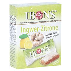 IBONS Zitrone Ingwerkaubonbons Orig.Schachtel 60 Gramm