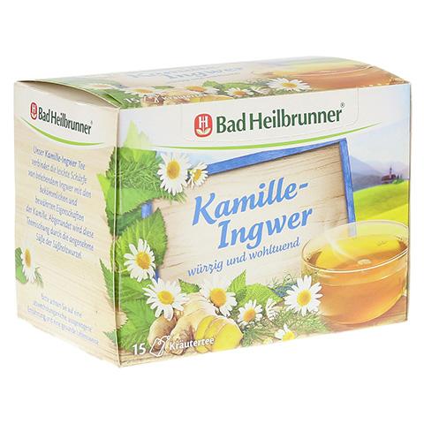 BAD HEILBRUNNER Tee Kamille-Ingwer Filterbeutel 15 Stück