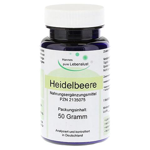 HEIDELBEER PULVER 50 Gramm