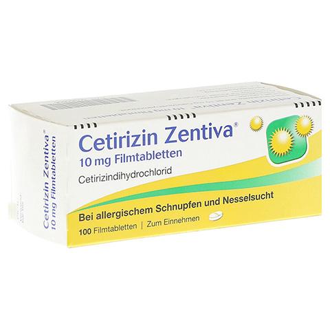 Cetirizin Zentiva 10mg 100 Stück N3