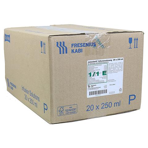 JONOSTERIL Plastik Infusionslösung 20x250 Milliliter N3