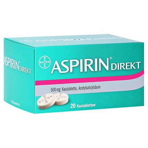 Aspirin Direkt 20 Stück