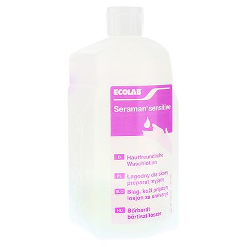 SERAMAN sensitive Hautreinigung Spenderflasche 1 Liter