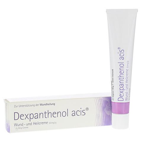 Dexpanthenol acis Wund- und Heilcreme 50mg/g 50 Gramm N2