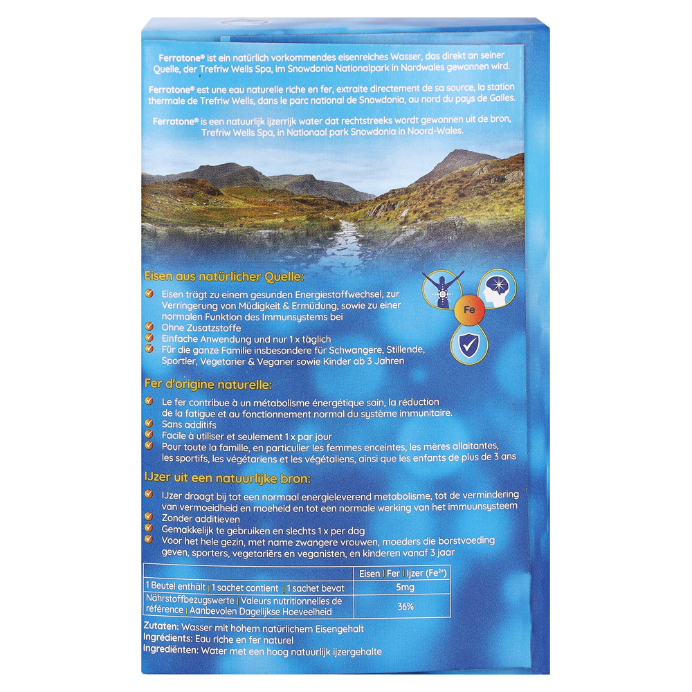 Erfahrungen zu FERROTONE Eisen Beutel 14x20 Milliliter - medpex ...