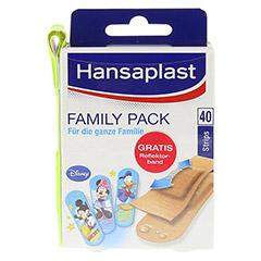 HANSAPLAST Family Pack Strips 40 Stück - Vorderseite