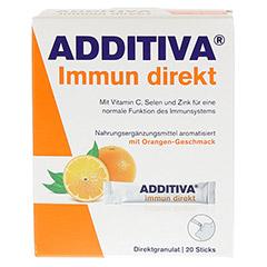 ADDITIVA Immun direkt Sticks 20 Stück - Vorderseite