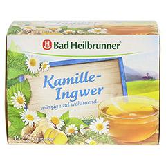 BAD HEILBRUNNER Tee Kamille-Ingwer Filterbeutel 15 Stück - Vorderseite