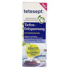 TETESEPT Tiefen-Entspannung Bad 125 Milliliter - Vorderseite