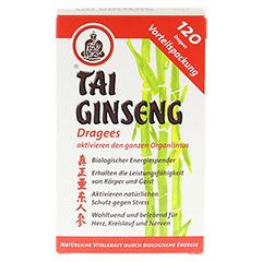 TAI GINSENG Dragees 120 Stück - Vorderseite