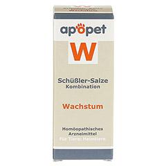 APOPET Schüßler-Salze-Kombination W ad us.vet.Gl. 12 Gramm - Vorderseite