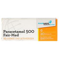 Paracetamol 500 Fair-Med 20 Stück N2 - Vorderseite