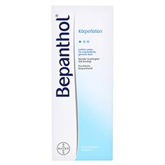 BEPANTHOL Körperlotion Spenderflasche 400 Milliliter - Vorderseite