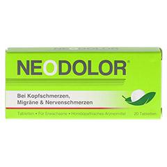 NEODOLOR Tabletten 20 Stück - Vorderseite