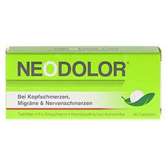 NEODOLOR Tabletten 40 Stück - Vorderseite