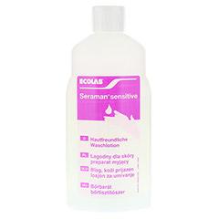 SERAMAN sensitive Hautreinigung Spenderflasche 1 Liter - Vorderseite
