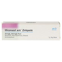 Miconazol acis Zinkpaste 20 Gramm N1 - Vorderseite