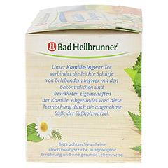 BAD HEILBRUNNER Kamille-Ingwer Tee Filterbeutel 15x2.0 Gramm - Linke Seite