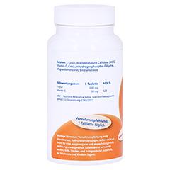 LYSIN 1.000 mg+Vitamin C Tabletten MediFit 60 Stück - Linke Seite