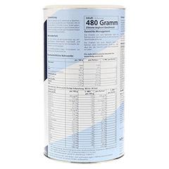 BODY CONTROL Diätpulver Joghurt/Zitrone 480 Gramm - Linke Seite