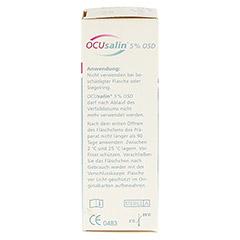 OCUSALIN 5% OSD Augentropfen 1x10 Milliliter - Linke Seite