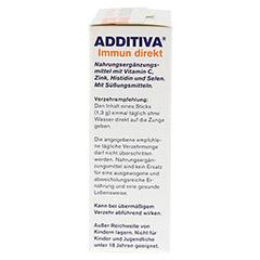 ADDITIVA Immun direkt Sticks 20 Stück - Rechte Seite