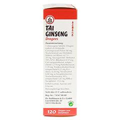 TAI GINSENG Dragees 120 Stück - Rechte Seite