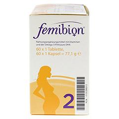 FEMIBION Schwangerschaft 2 D3+DHA+400 µg Fol.o.Jod 2x60 Stück - Rechte Seite