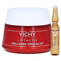 Vichy Liftactiv Collagen Specialist Anti-Age Tagespflege + gratis Vichy Liftactiv Ampullen Glyco-C 50 Milliliter