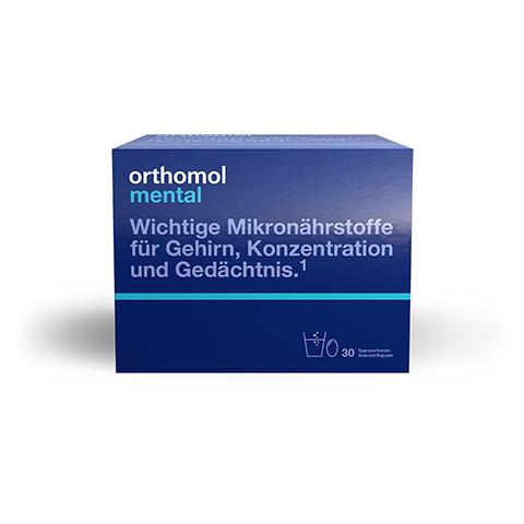 ORTHOMOL mental Granulat 30 Stück
