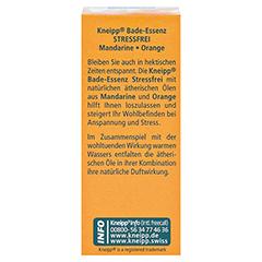 KNEIPP BADE-ESSENZ stressfrei 20 Milliliter - Rückseite