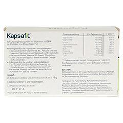 KAPSAFIT Kapseln 28x2 Stück - Rückseite