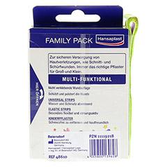 HANSAPLAST Family Pack Strips 40 Stück - Rückseite