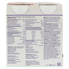 DIASIP Erdbeergeschmack 4x200 Milliliter - Rückseite