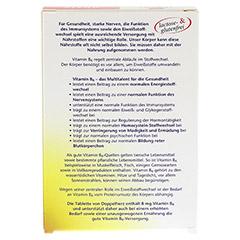 DOPPELHERZ Vitamin B6 Tabletten 30 Stück - Rückseite