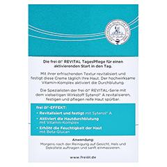 FREI ÖL Revital TagesPflege 50 Milliliter - Rückseite