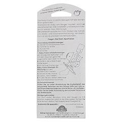 SAUGER Inhalation 102866 weiß 1 Stück - Rückseite