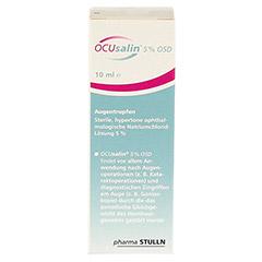 OCUSALIN 5% OSD Augentropfen 1x10 Milliliter - Rückseite