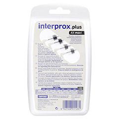 INTERPROX plus xx-maxi schwarz Interdentalbürste 4 Stück - Rückseite