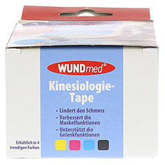 KINESIOLOGIE Tape 5 cmx5 m blau 1 Stück - Unterseite