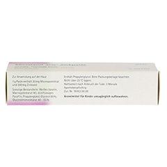Miconazol acis Zinkpaste 20 Gramm N1 - Unterseite