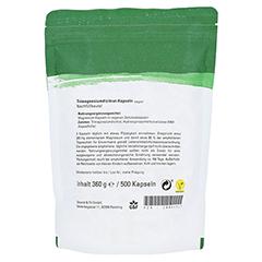 Magnesium PUR 500 Kapseln 500 Stück - Rückseite