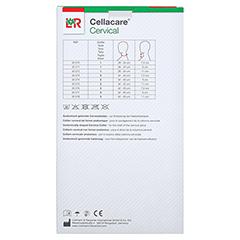 CELLACARE Cervical Classic Cervicalst.9 cm Gr.2 1 Stück - Rückseite