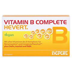 Vitamin B Complete Hevert Kapseln 60 Stück - Vorderseite