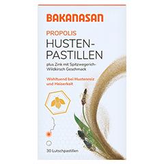 BAKANASAN Husten-Pastillen 30 Stück - Vorderseite