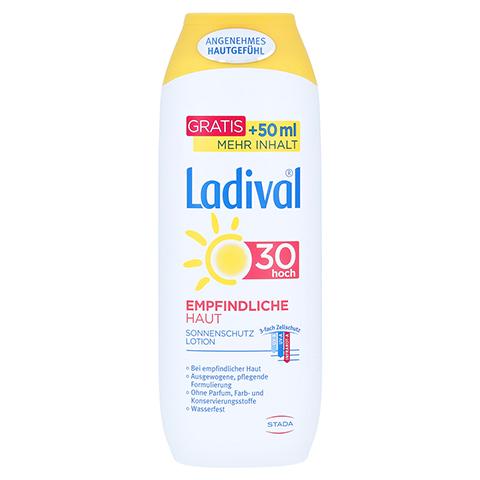 LADIVAL empfindliche Haut Lotion LSF 30 250 Milliliter