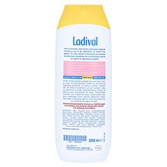 LADIVAL empfindliche Haut Lotion LSF 30 + gratis Ladival Standtuch 250 Milliliter - Rückseite