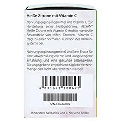 HEISAN heiße Zitrone mit Vitamin C Pulver 12x10 Gramm - Linke Seite